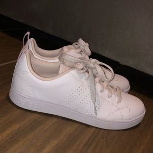 Adidas stans smith pink white